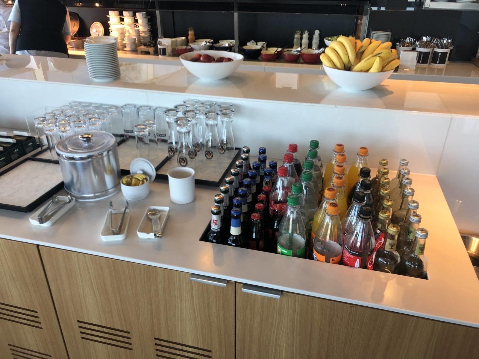 Lufthansa Business Lounge Frankfurt A26 Getraenkeauswahl