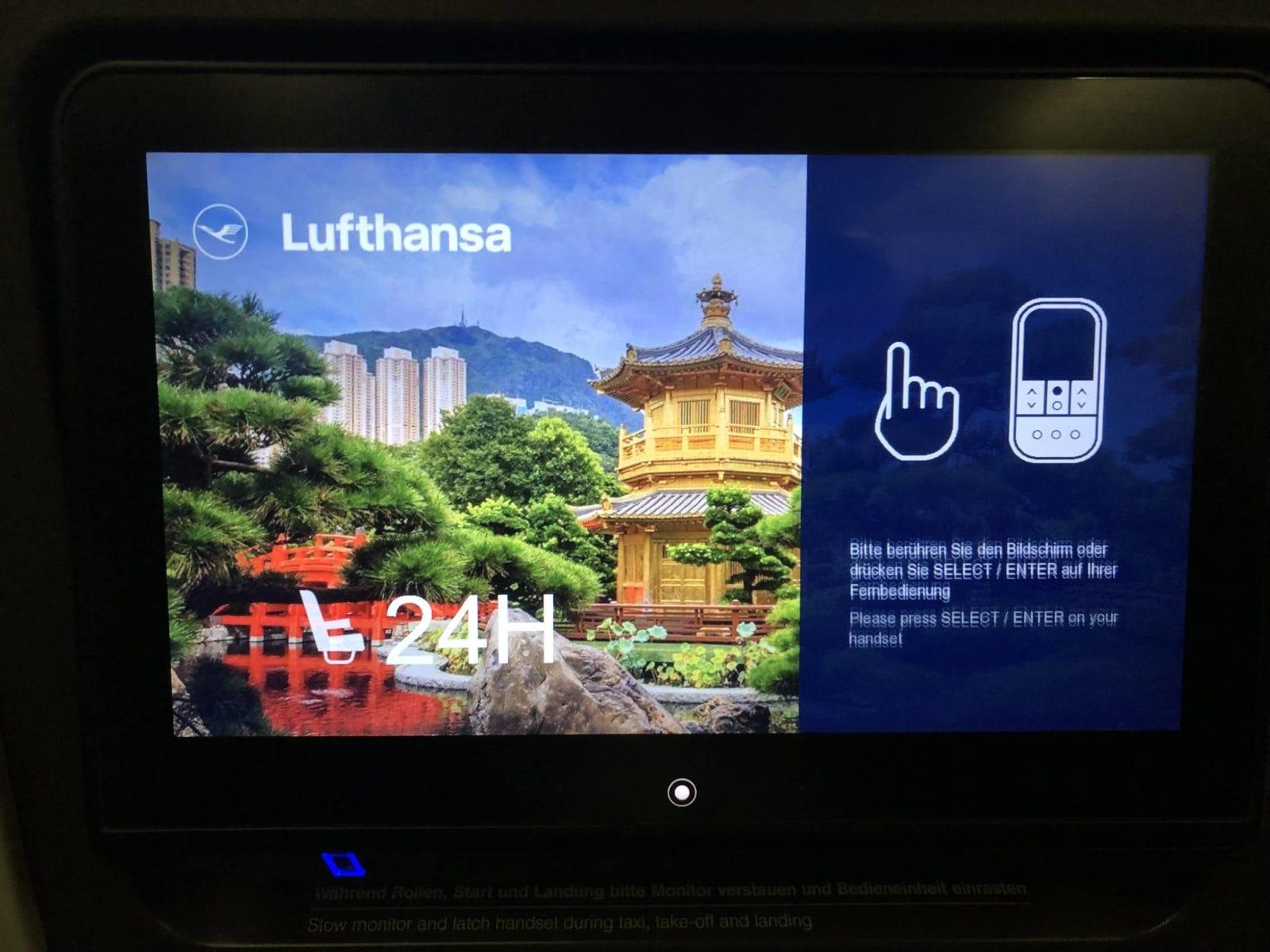 Lufthansa Premium Economy Lufthansa Monitor