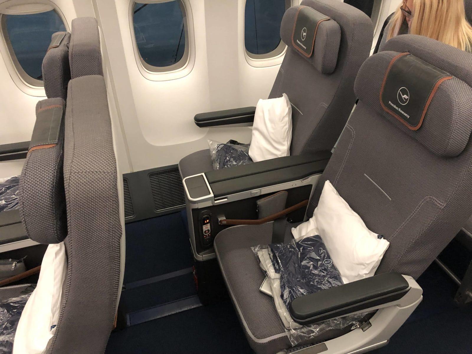 Lufthansa Premium Economy Sitz