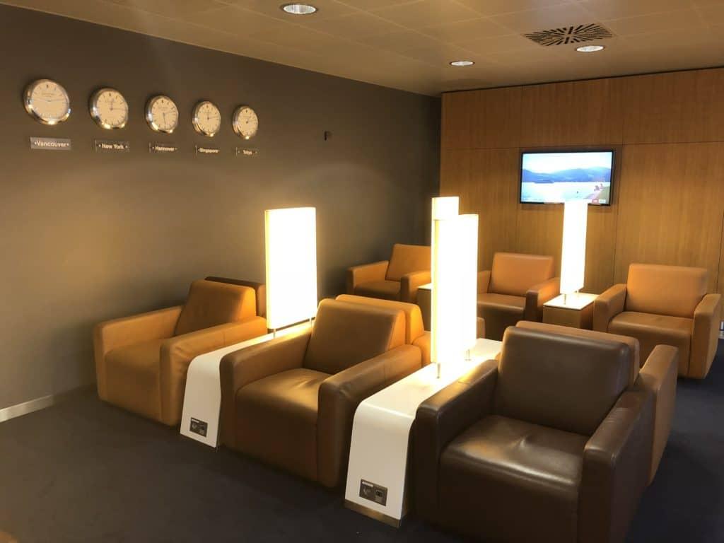 Lufthansa Senator Lounge Hannover Sesselbereich