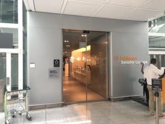 Lufthansa Sentaor Lounge München G24 Eingangsbereich