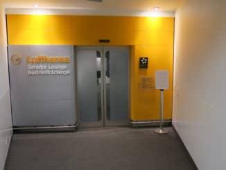 Lufthansa Senator Lounge Hamburg Eingangsbereich