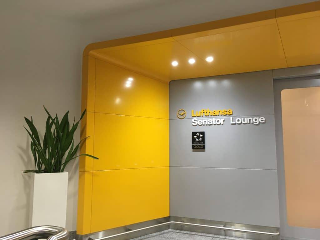 Lufthansa Senator Lounge Frankfurt B Eingangsbereich