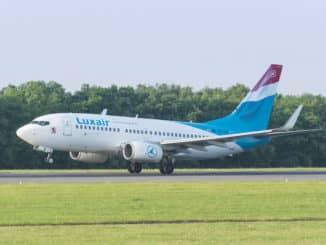 Boeing 737 der Luxair