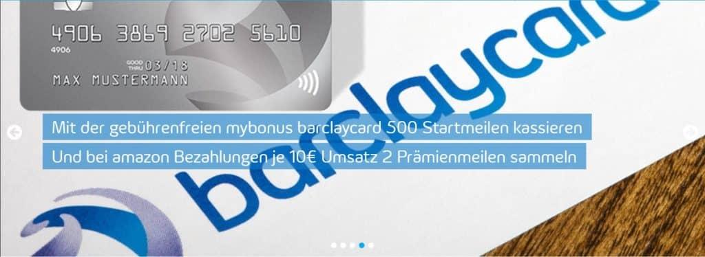 Gibt es bald eine mybonus Kreditkarte von Barclaycard?