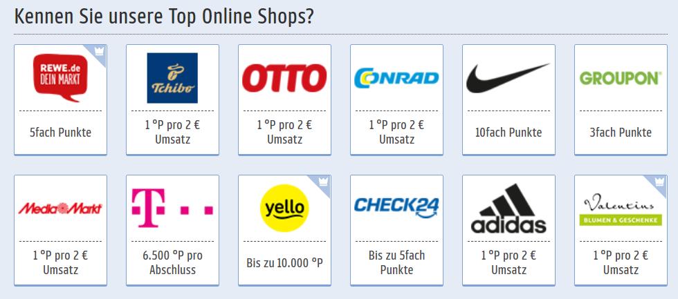 Payback Tutorial: Die beliebtesten Online Payback Partner in der Übersicht