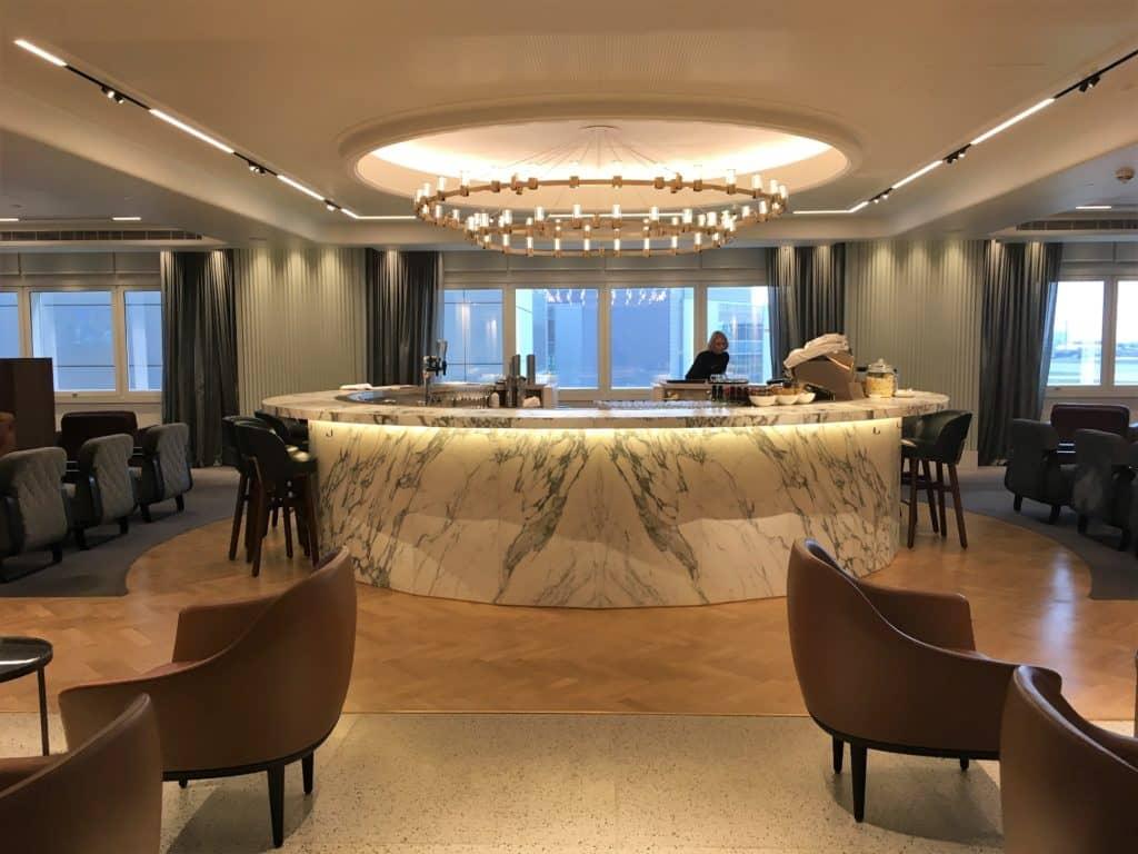 Qantas London Lounge Bar oben