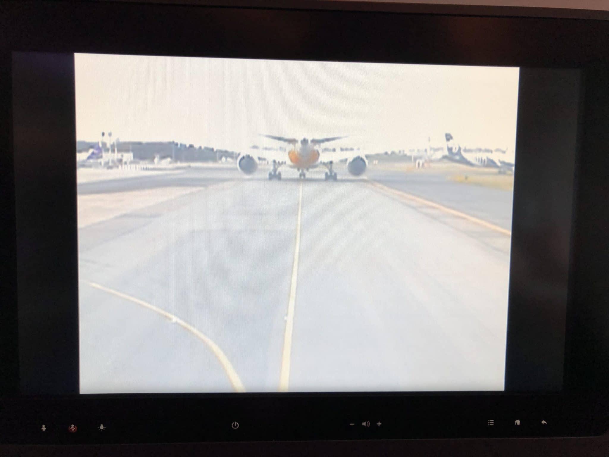 Qatar Airways Business Class A380 Vorderkamera