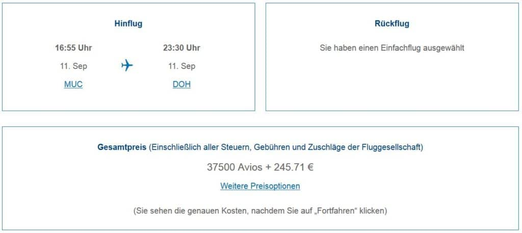 Qatar Airways Qsuite ab München: Buchbar für nur 37.500 Avios