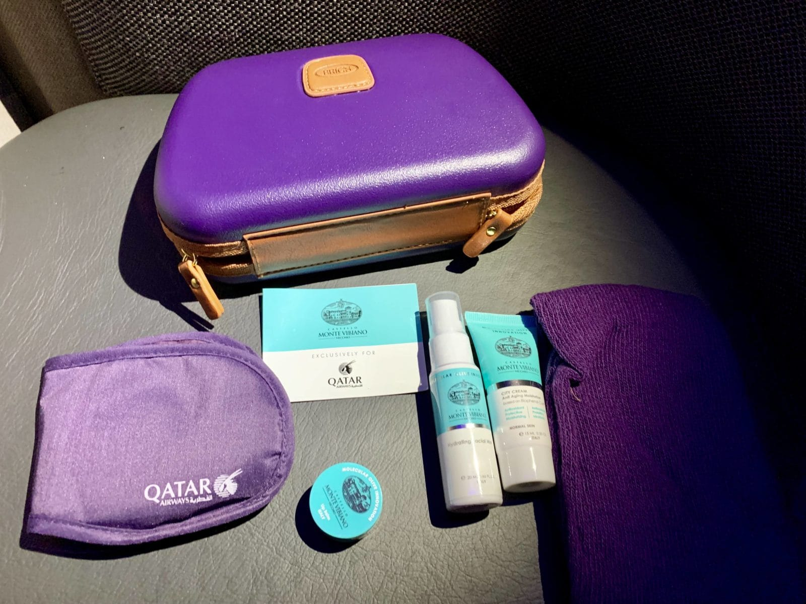 Qatar Airways Qsuite Boeing 777-300ER Amenity Kit