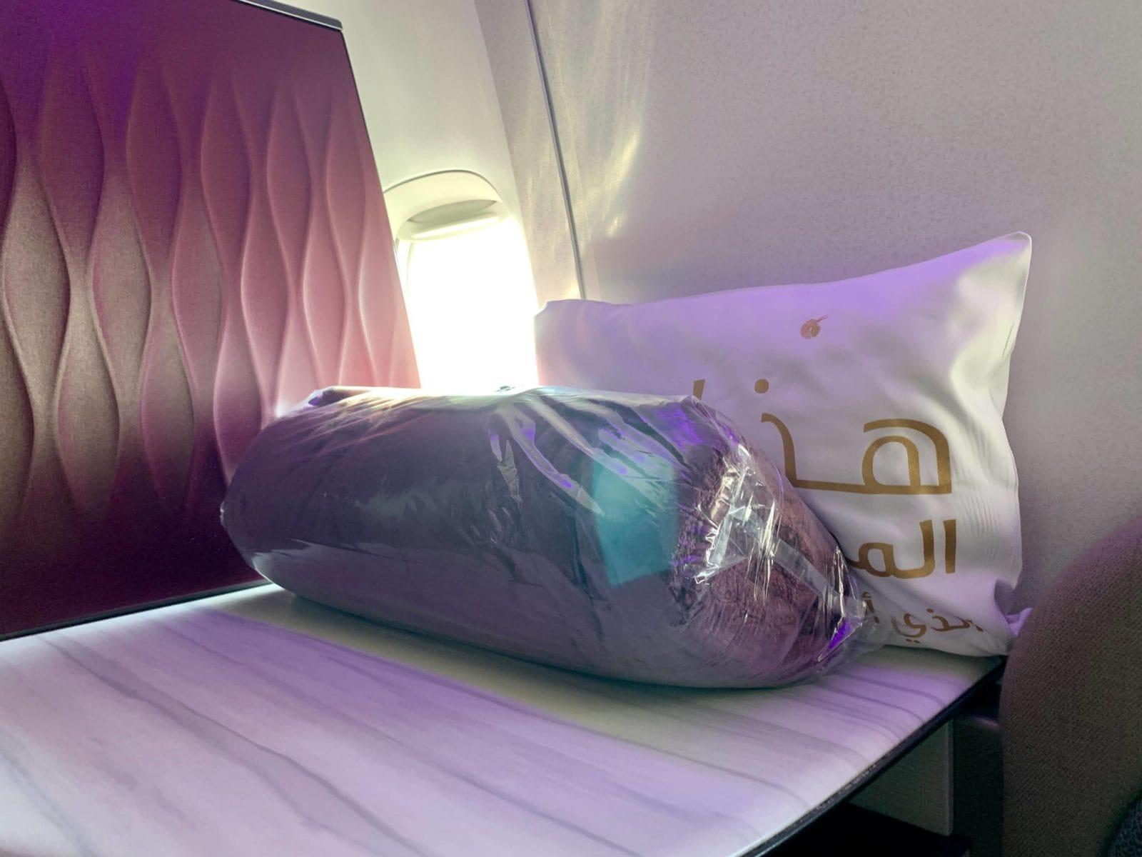 Qatar Airways Qsuite Boeing 777-300ER Decke
