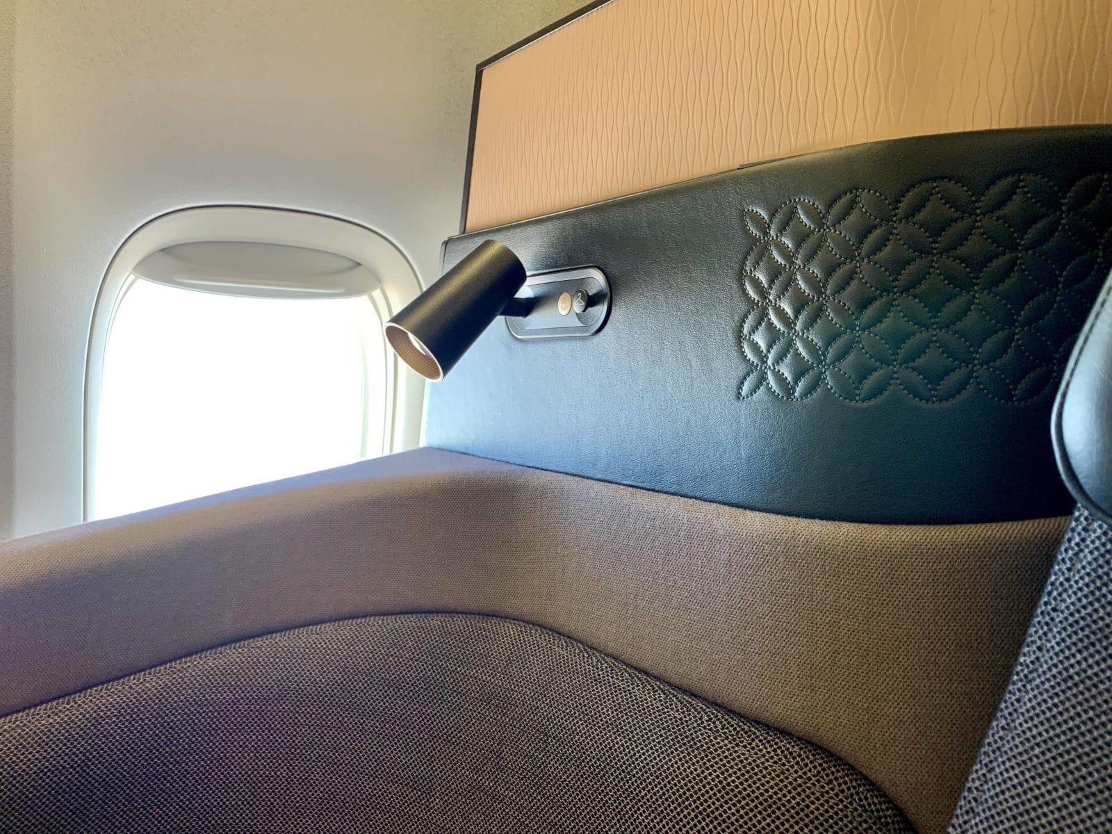 Qatar Airways Qsuite Boeing 777-300ER Lampe
