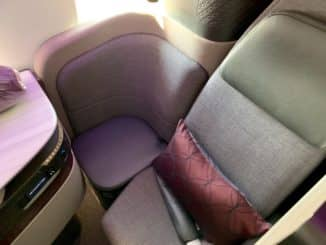 Qatar Airways Qsuite Boeing 777-300ER Sitz