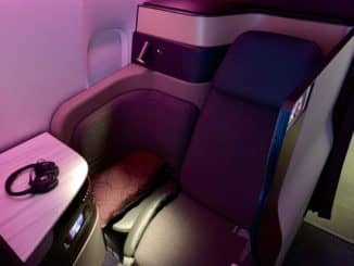 Qatar Airways Qsuite Boeing 777-300ER Sitz