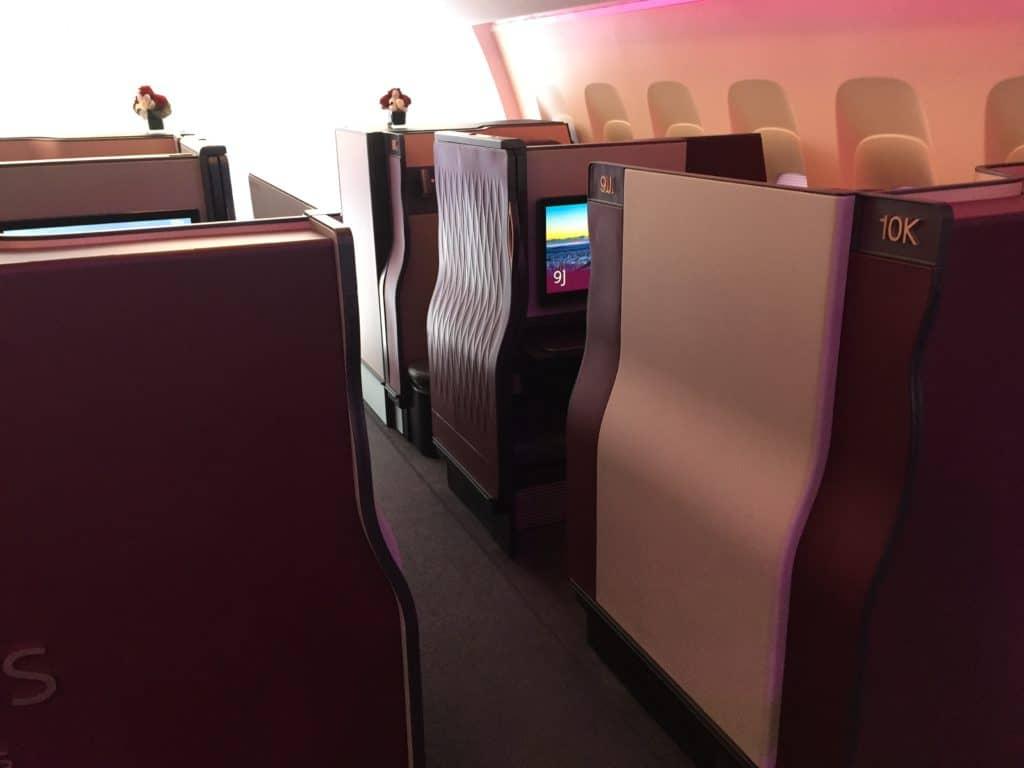 American Express Membership Rewards Punkte einlösen und Qatar Qsuite fliegen
