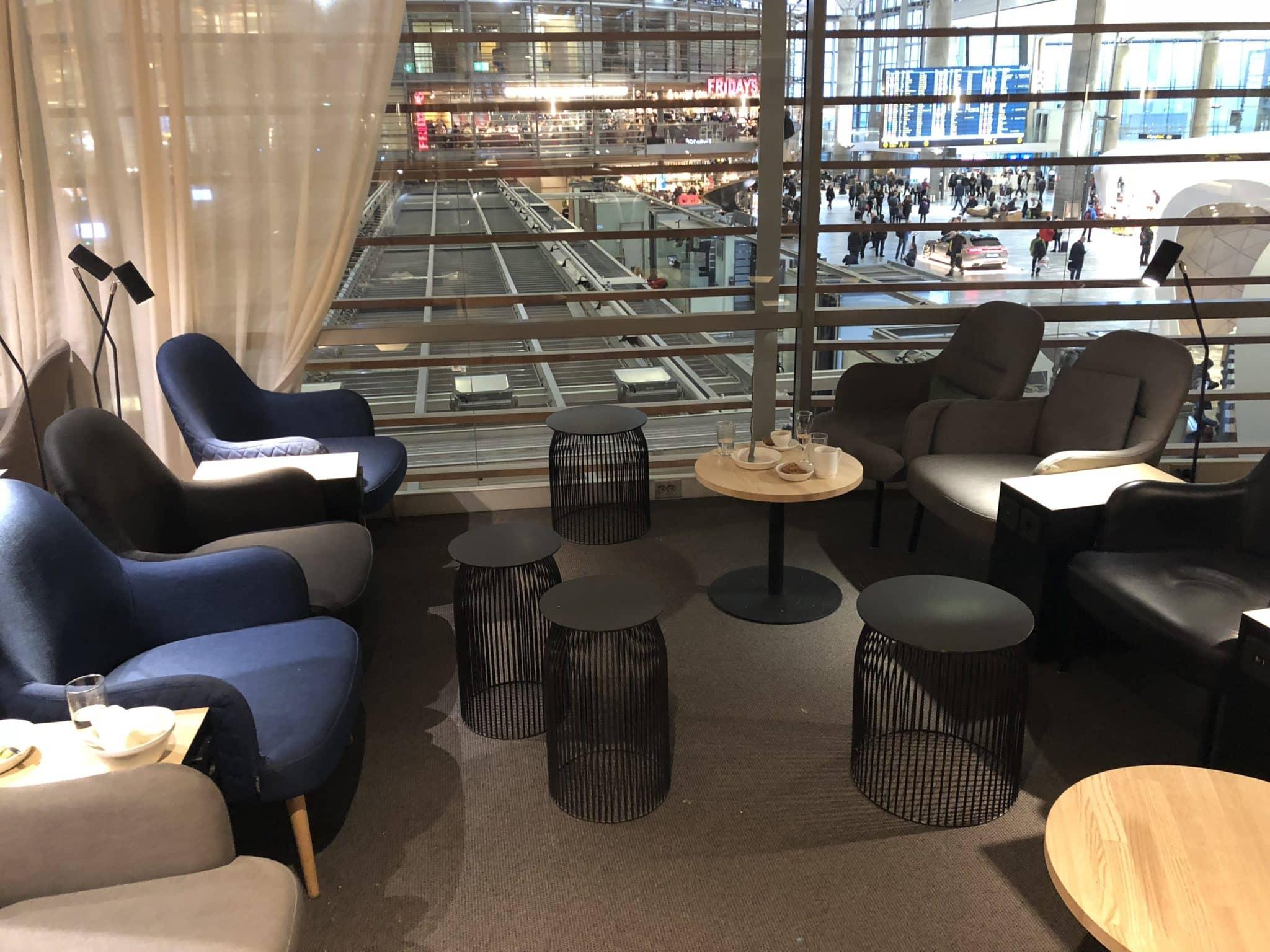 SAS Gold Lounge Oslo-Gardermoen Sessel