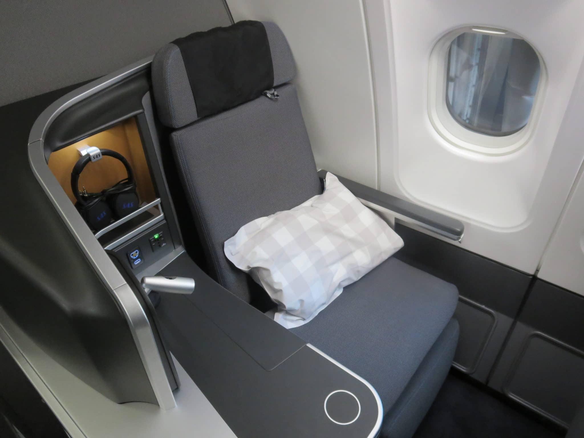 SAS Business Class A340 Sitz