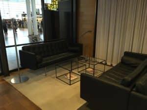 SAS Gold Lounge Kopenhagen Sofas