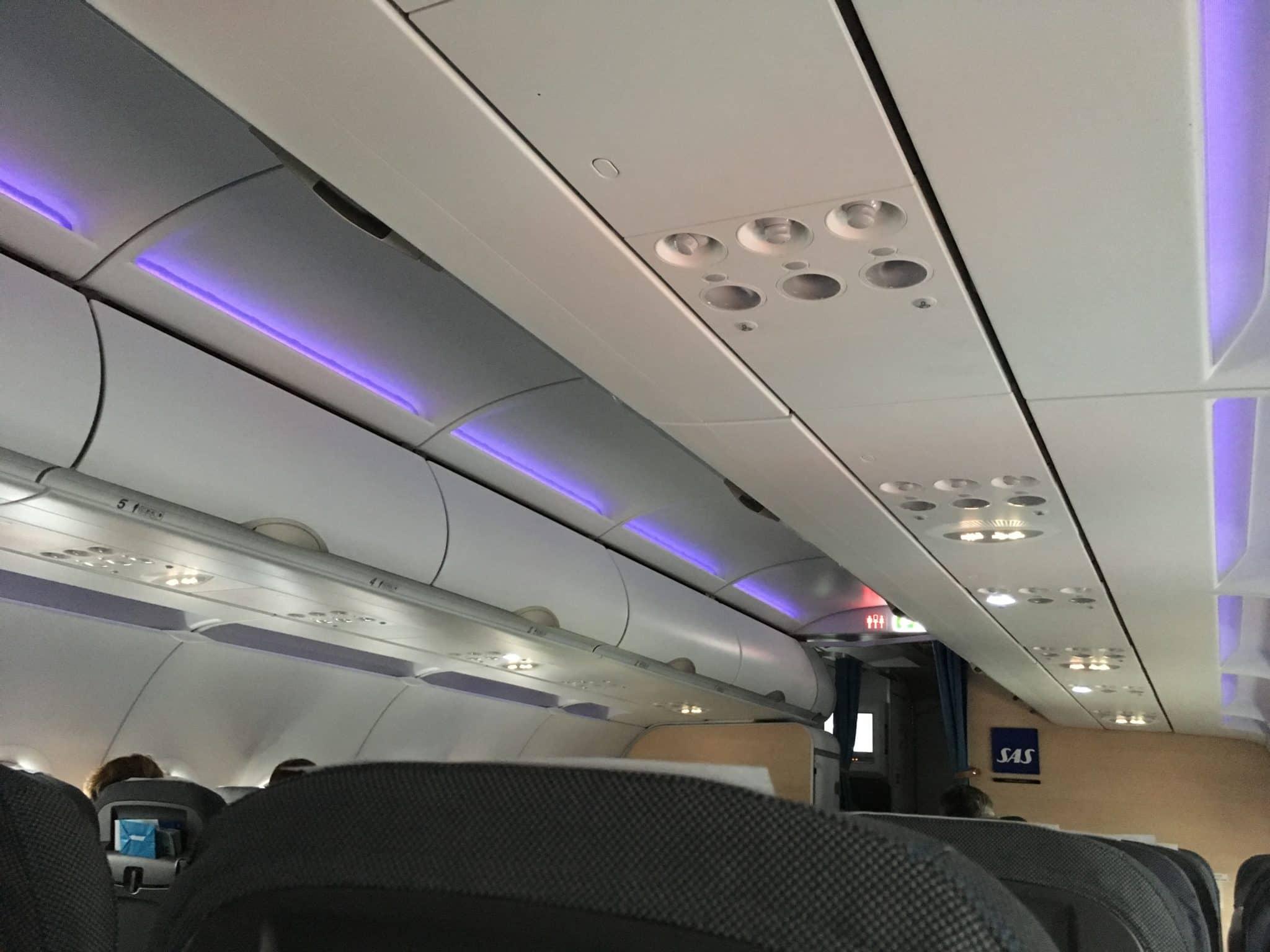 SAS Plus - Kabine A320 und A321
