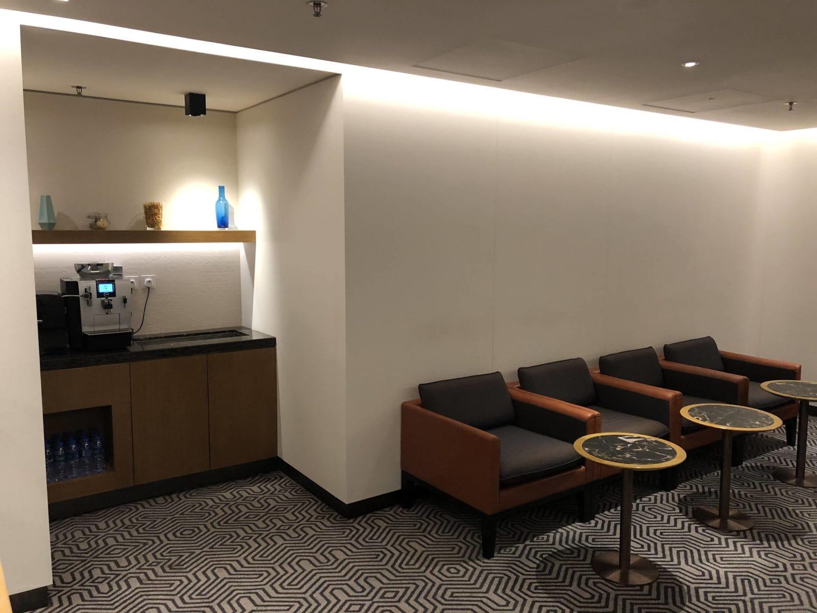 Singapore Airlines SilverKris Lounge Hong Kong Eingangsbereich