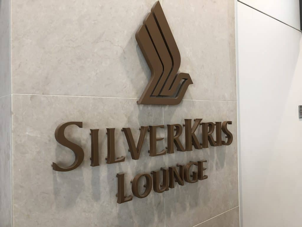 Singapore Airlines SilverKris Lounge Hong Kong SilverKris Logo