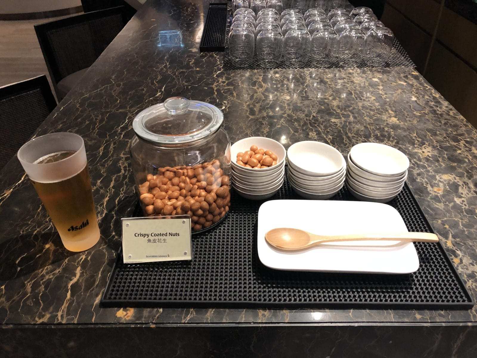 Singapore Airlines SilverKris Lounge Hong Kong Nuesse