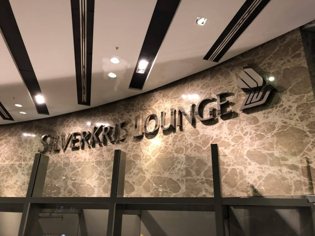 Singapore Airlines SilverKris Lounge Terminal 3 SilverKris Lounge Logo