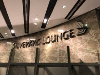 Singapore Airlines SilverKris Lounge Terminal 3 SilverKris Lounge Logo