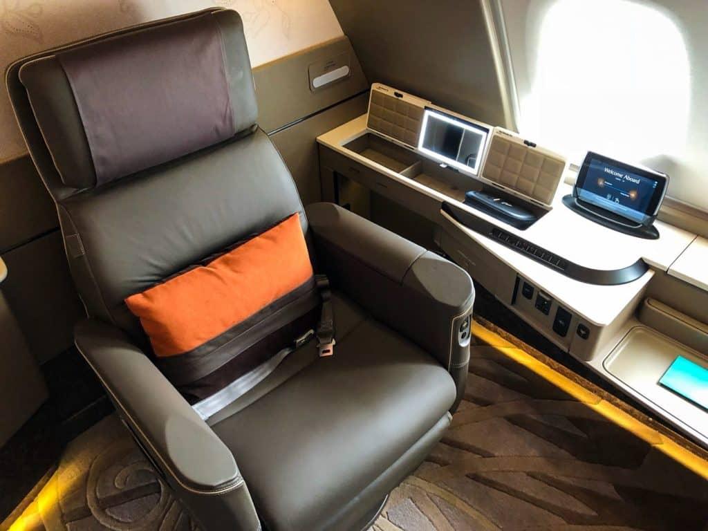 Die neue Singapore Airlines Suite an Bord des A380
