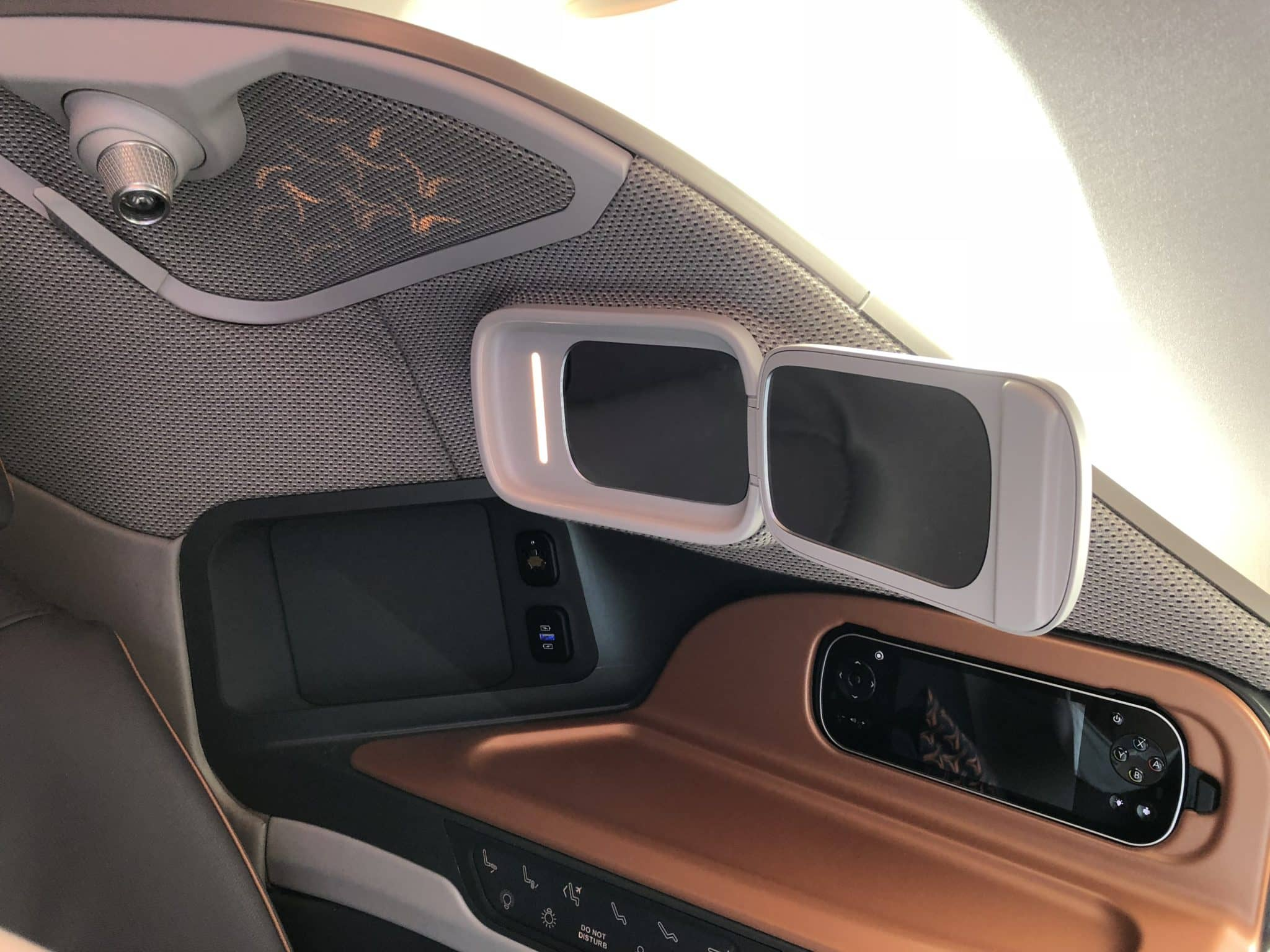 Singapore Airlines neue Business Class A380 Spiegel