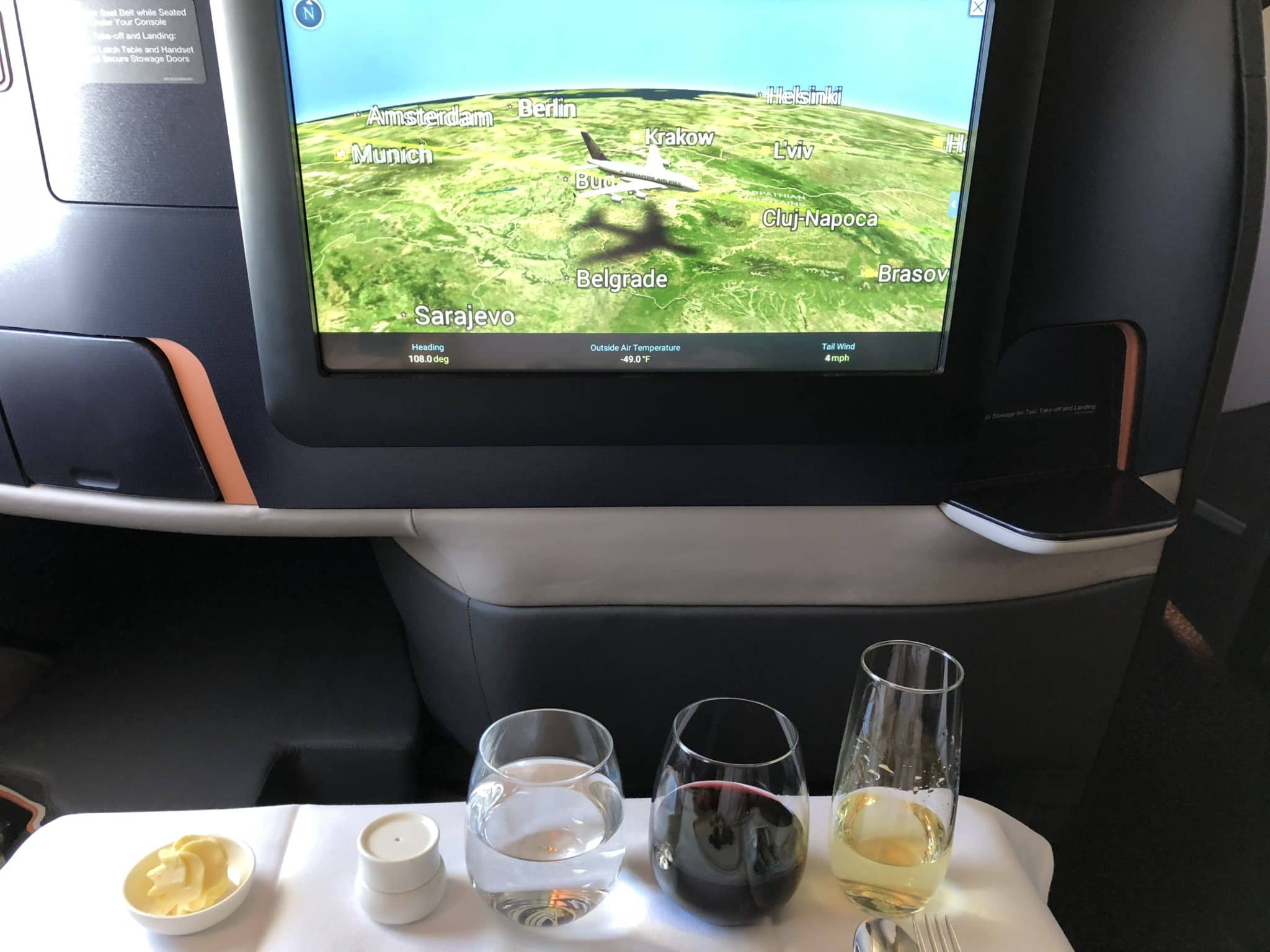 Singapore Airlines neue Business Class