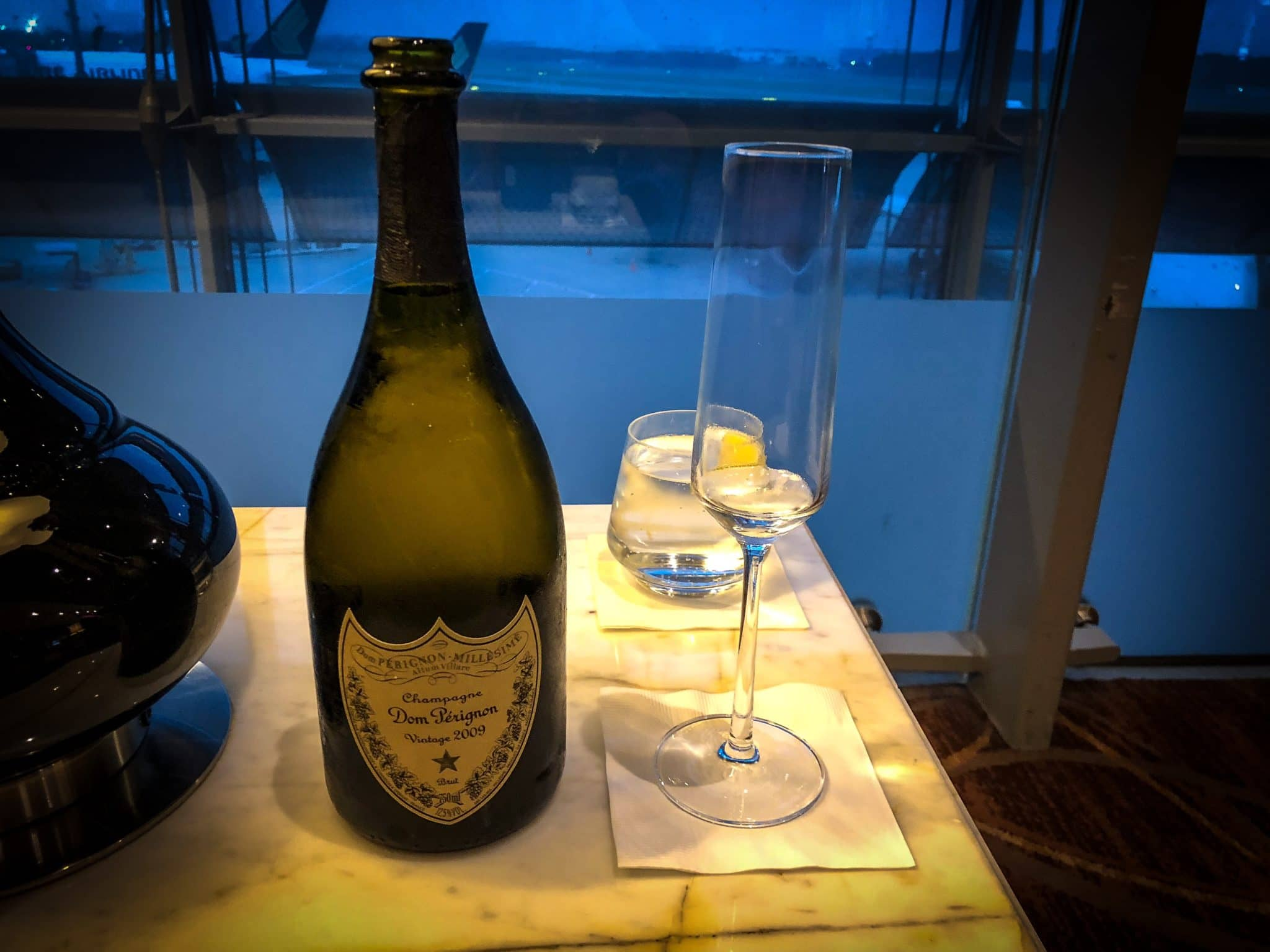 Singapore Airlines neue First Class A380 Dom Perignon