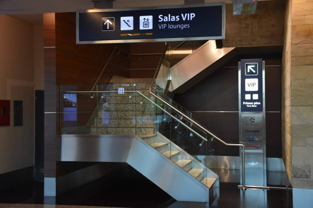 Wegbeschreibung zur Star Alliance Lounge Buenos Aires