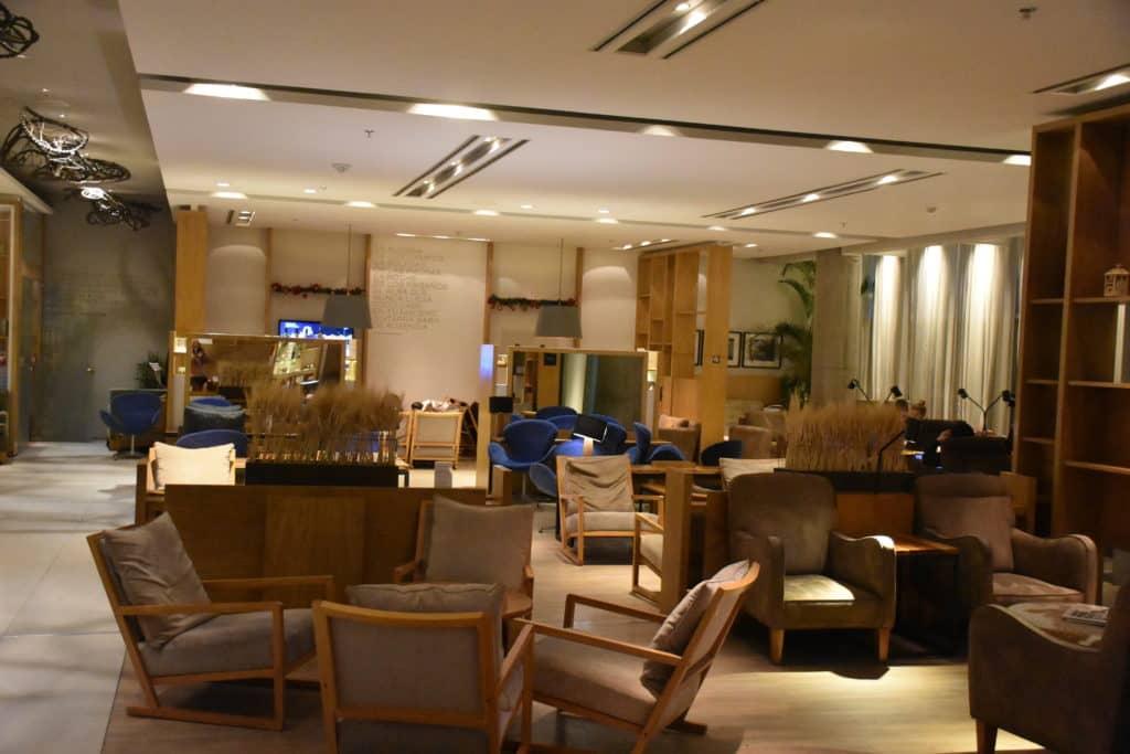 Mittlerer Sitzbereich der Star Alliance Lounge Buenos Aires Ezeiza