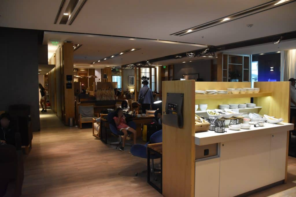 Blick vom Eingang in die Star Alliance Lounge Buenos Aires
