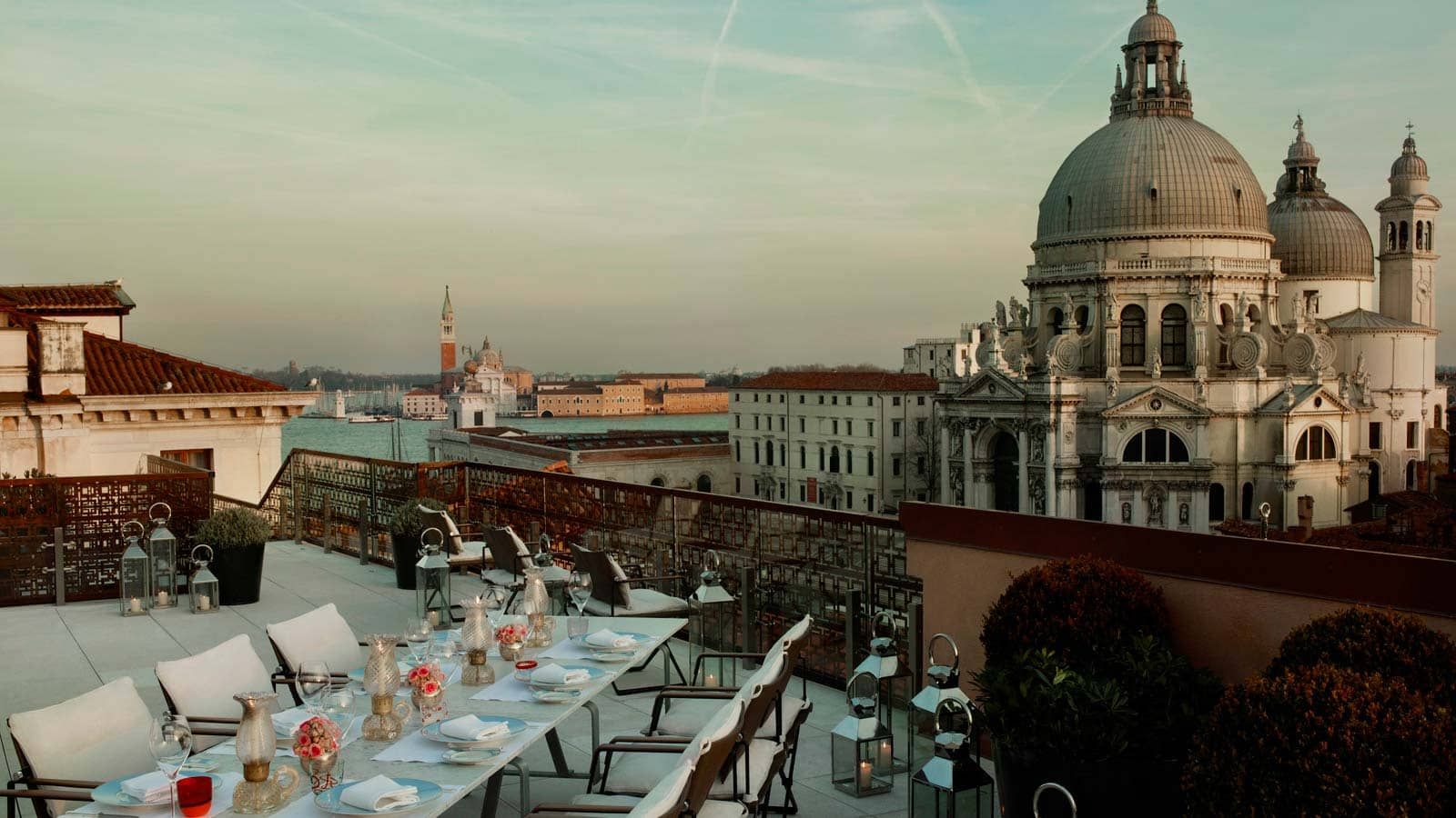 Dachterasse The Gritti Palace in Venedig &copy Starwood