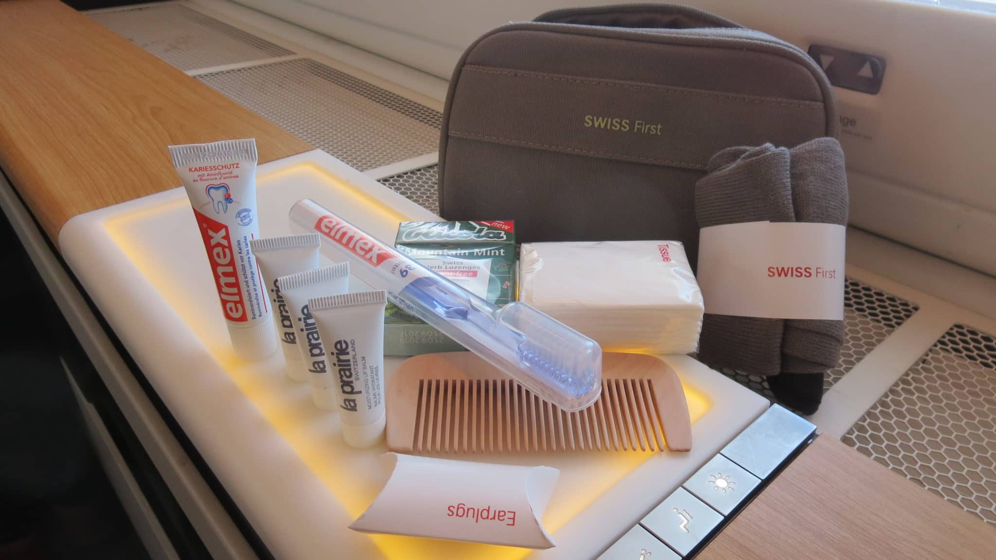 Swiss First Class Boeing 777-300ER Amenity Kit