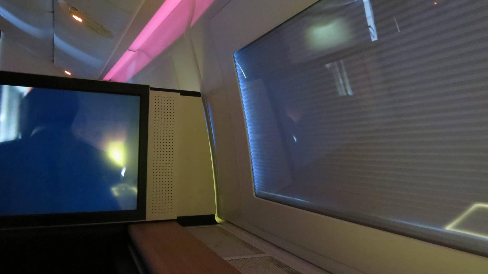 Swiss First Class Boeing 777-300ER Fenster