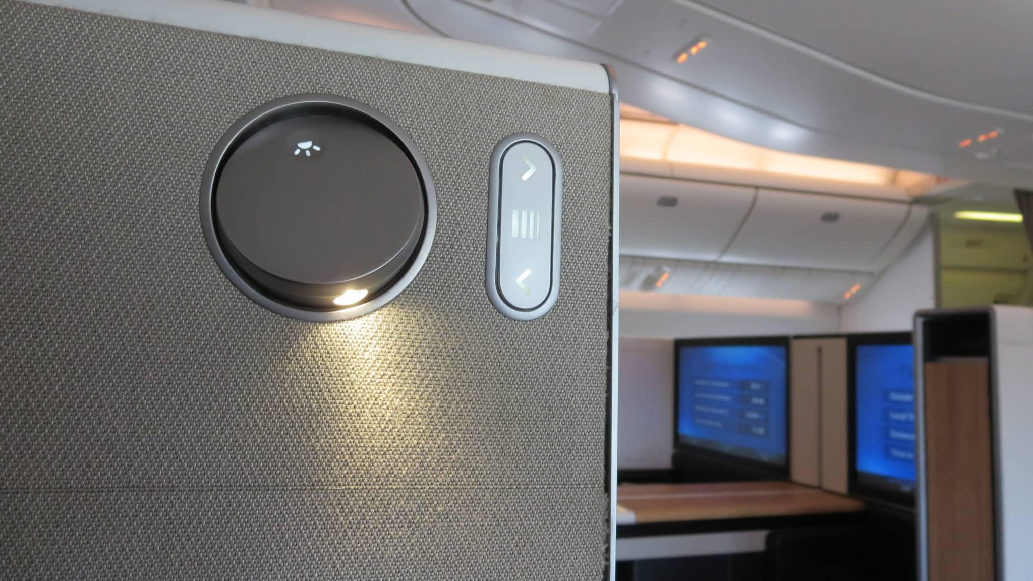 Swiss First Class Boeing 777-300ER Lampe