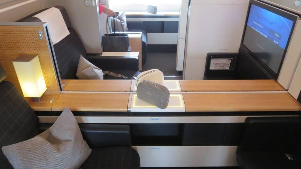Die Swiss First Class an Bord der Boeing 777-300ER