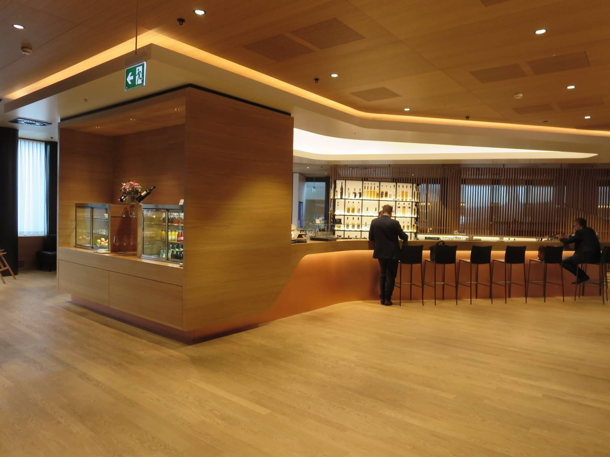 Swiss First Class Lounge Zürich A Bar