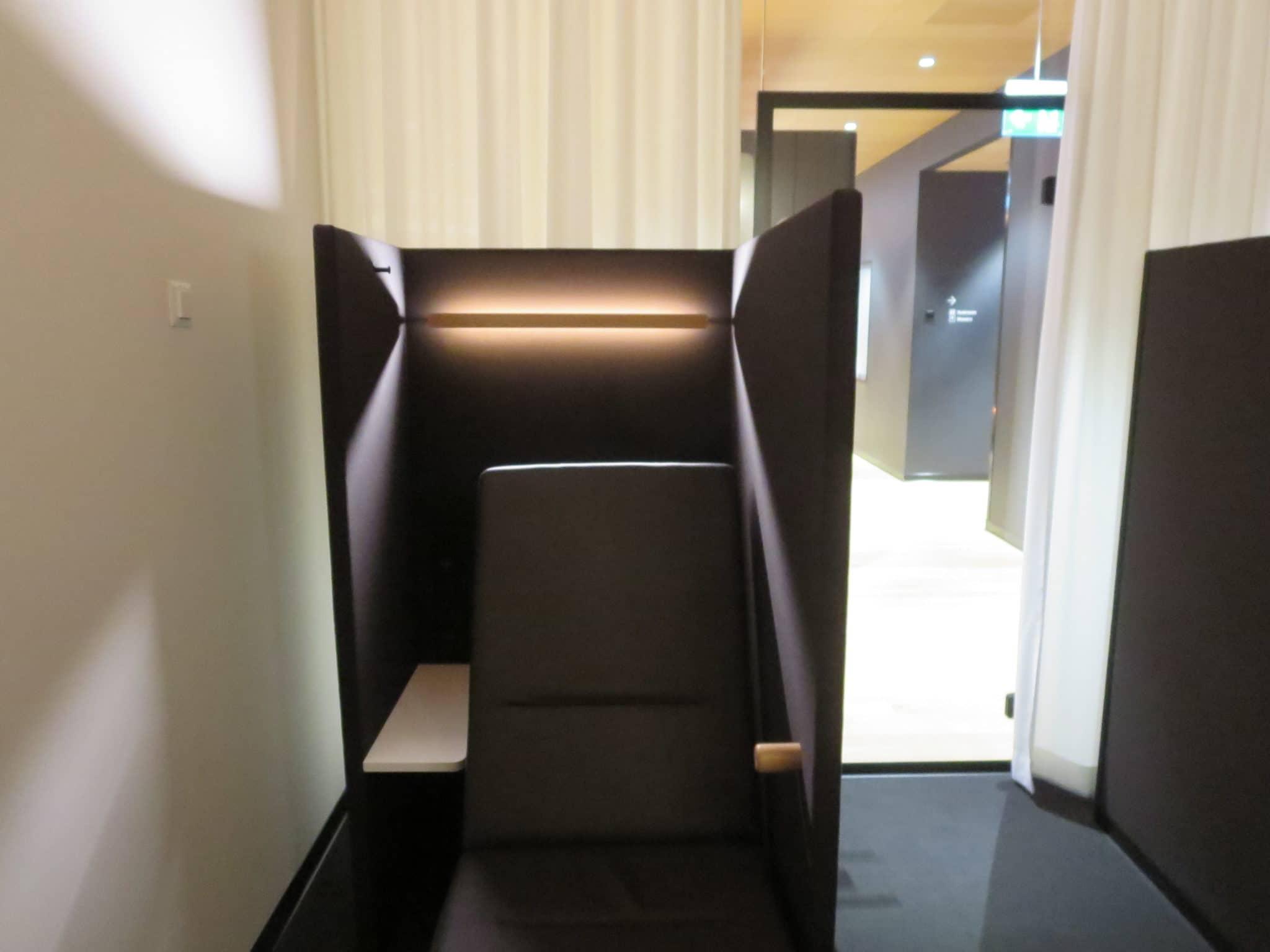 Swiss First Class Lounge Zürich A Ruhebereich