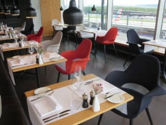 Swiss First Class Lounge Zürich E Restaurant