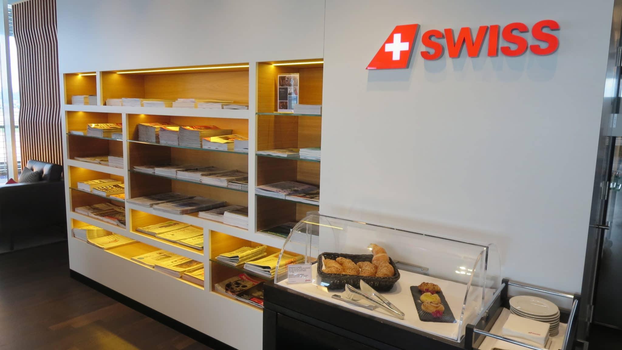 Swiss First Class Lounge Zürich E Zeitschriften