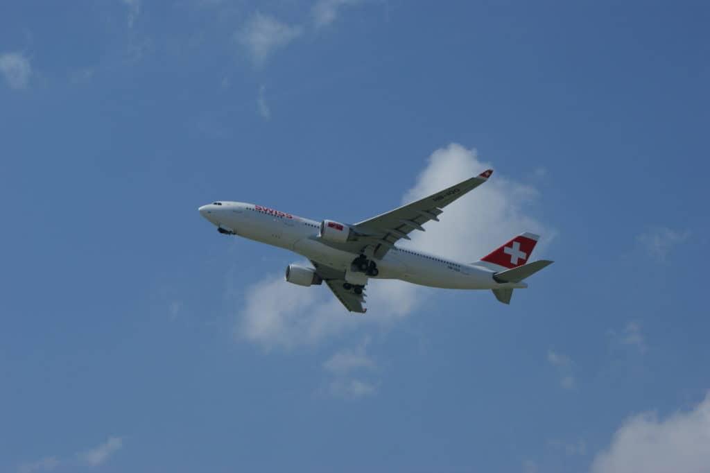 SWISS A330 am Flughafen Zürich