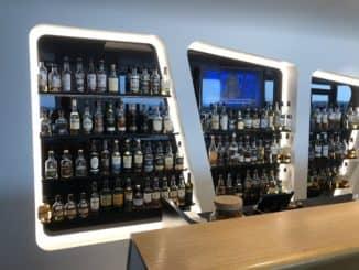 Swiss Senator Lounge Zürich Gates E Whiskyauswahl