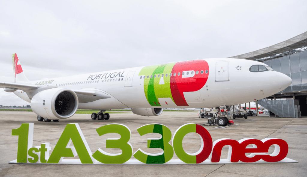 TAPs neuester Airbus A330-900neo © AIRBUS 2018