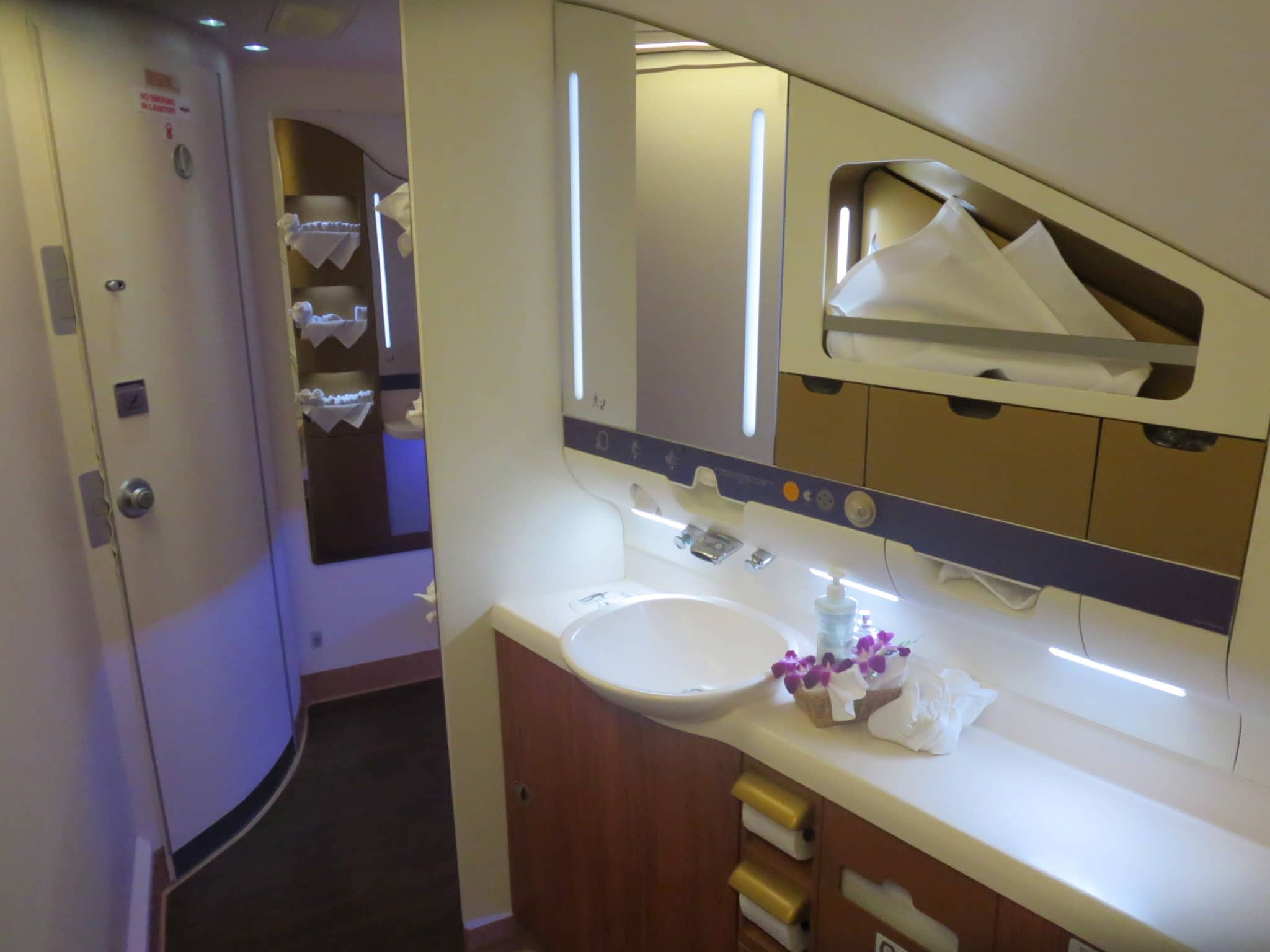 Thai Airways First Class Bad A380