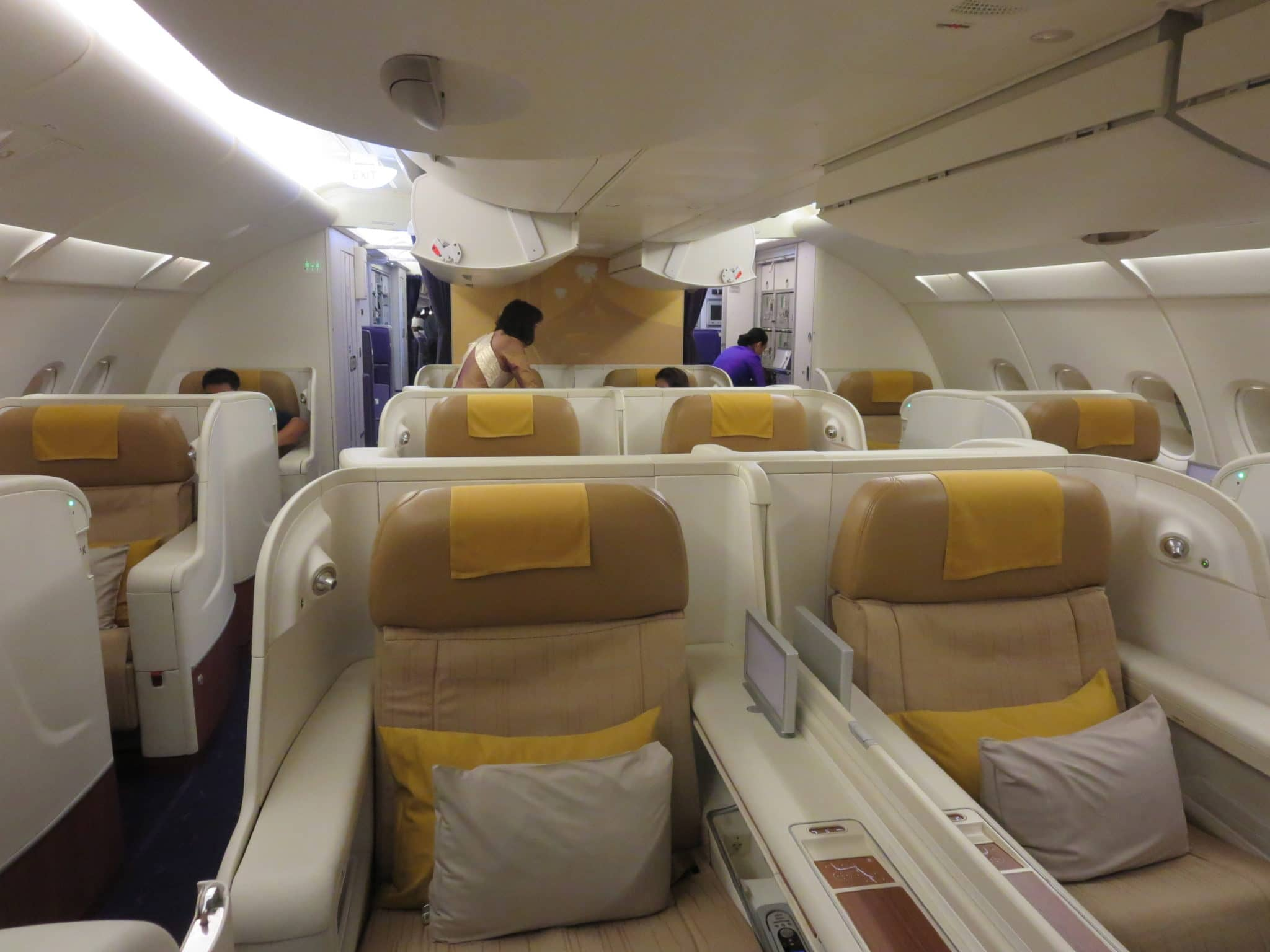 Thai Airways First Class Kabine A380