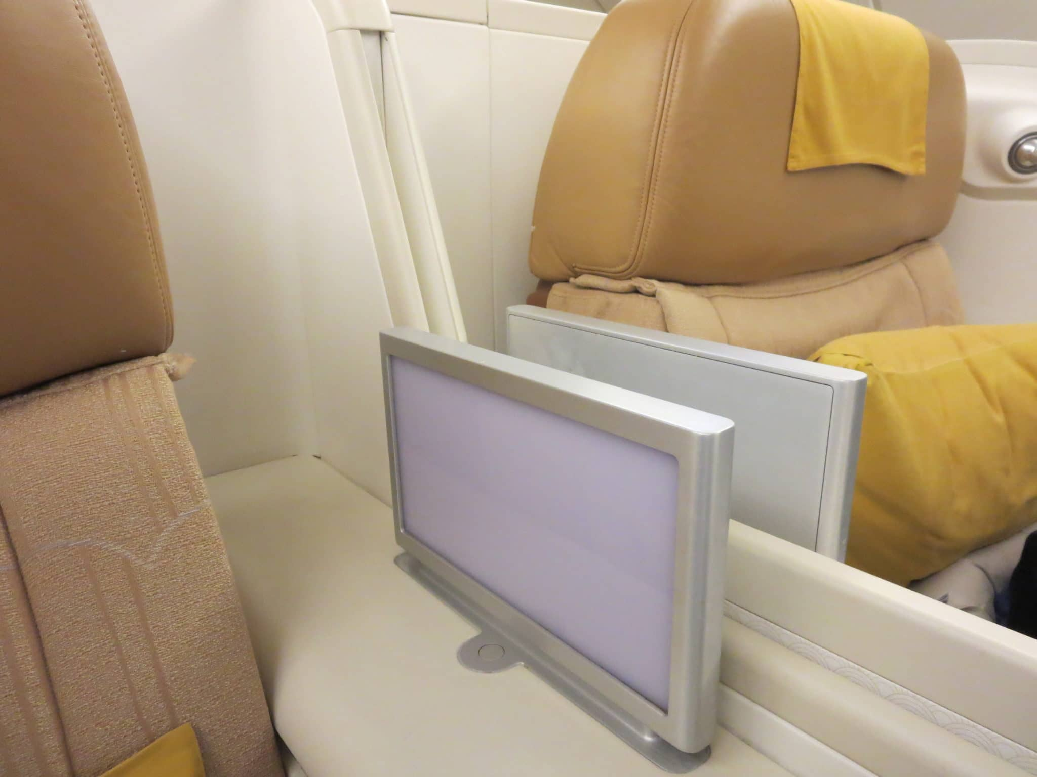 Thai Airways First Class A380 Nachtlmpe